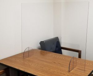 covid-19 shields - courtrooms - interrogation rooms - knox glass