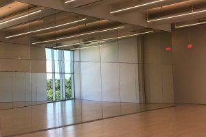 commercial mirror installation oklahoma city - bathroom - gyms